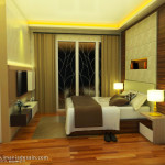 interior kamar utama citra ray