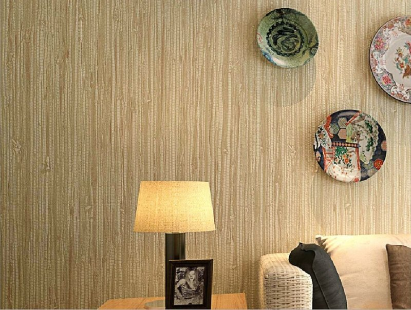 wallpaper natural fiber
