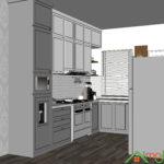 Kitchen set Cibubur - Citragrand 7