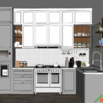 Kitchen set Cibubur - Citragrand 1
