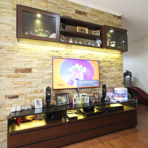 Interior Rumah Residence One 2